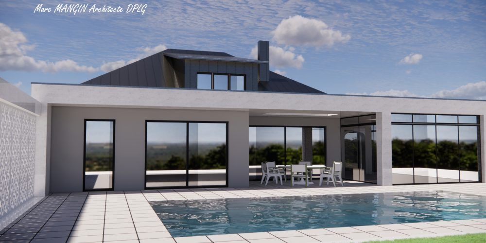Nouvelle rénovation thermique et extension sur la commune de Metz